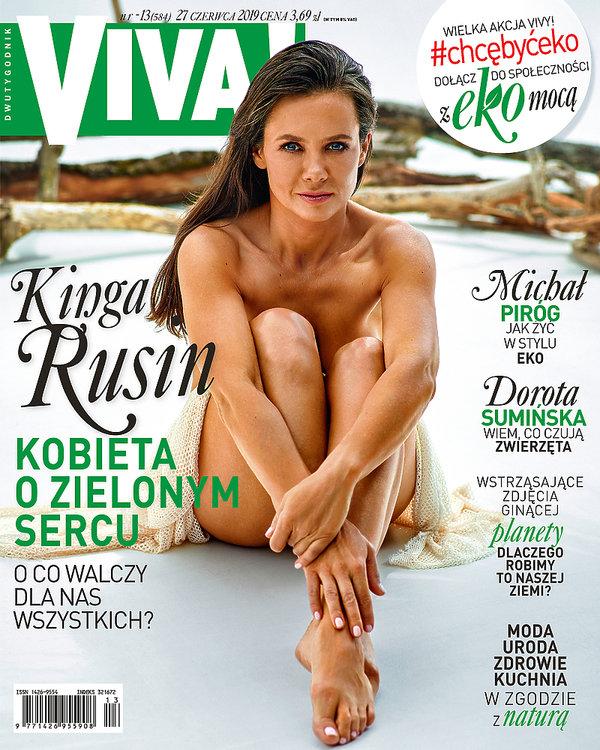 Kinga Rusin, VIVA! czerwiec 2019, VIVA! 13/2019, VIVA! okładka