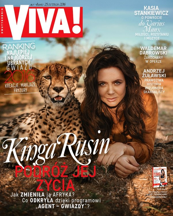 Kinga Rusin, Viva! luty 2016