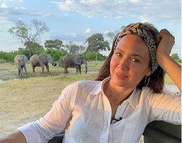 Kinga Rusin, wakacje w Afryce