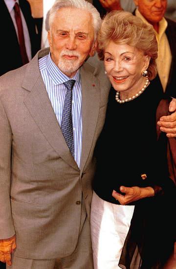 Kirk Douglas, Anne Douglas