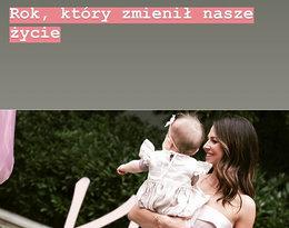 Klara Lewandowska kończy roczek