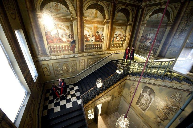Klatka schodowa w Pałacu Kensington