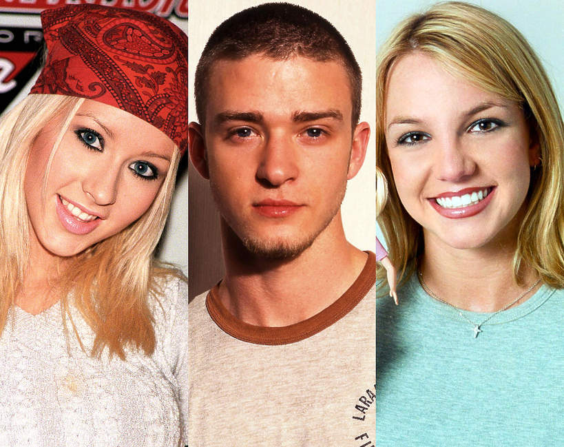 Klub Myszki Miki: Christina Aguilera, Justin Timberlake, Britney Spears
