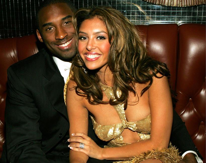 Kobe Bryant z żoną, Vanessa Laine