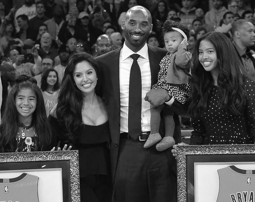 Kobe Bryant żona dzieci