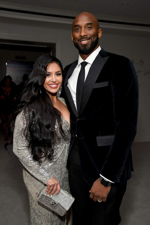 Kobe Bryant Żona, Vanessa Bryant ostatnie zdjęcie publiczne z mężem