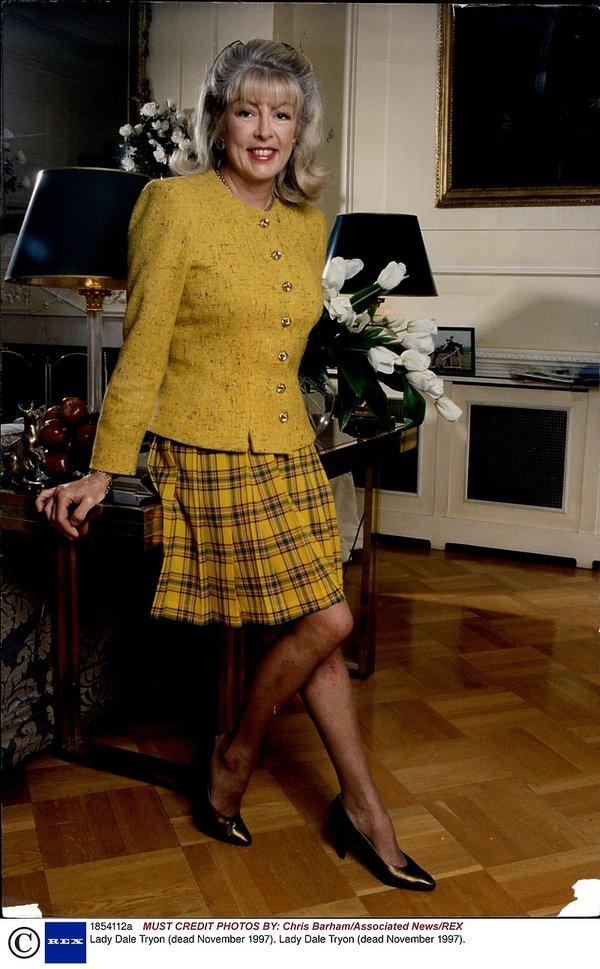 Kobiety księcia Karola: Lady Dale Tryon