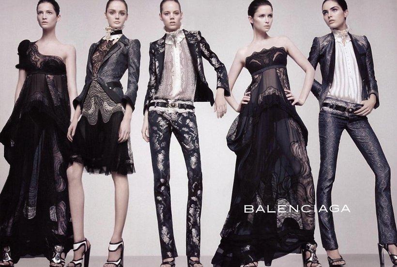 Kolekcja Balenciagi wiosna-lato 2008