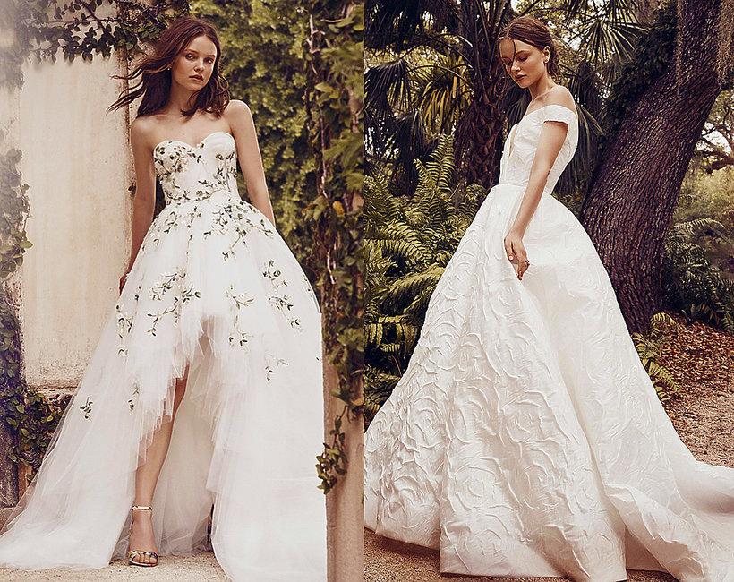 kolekcja ślubna Monique Lhuiller, wiosna 2020