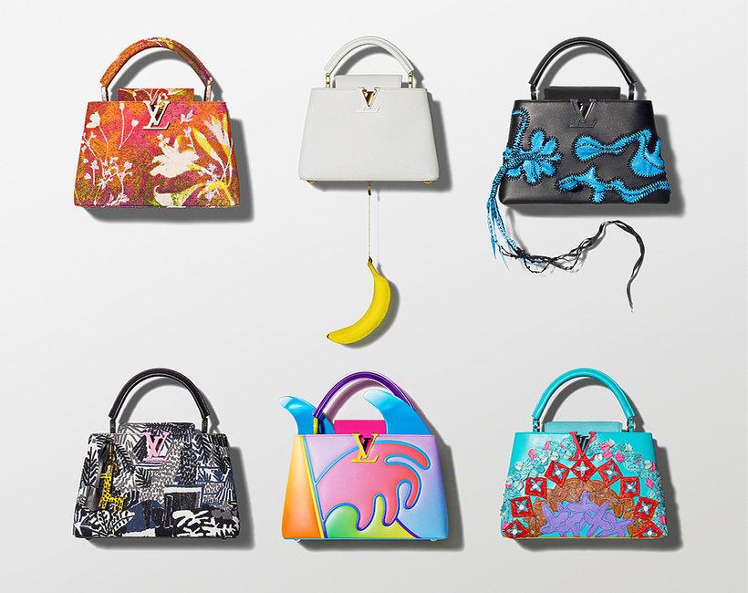 kolekcja torebek Louis Vuitton, ArtyCapucines