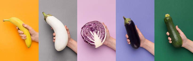 kolorowe-warzywa-na kolorowym-tle