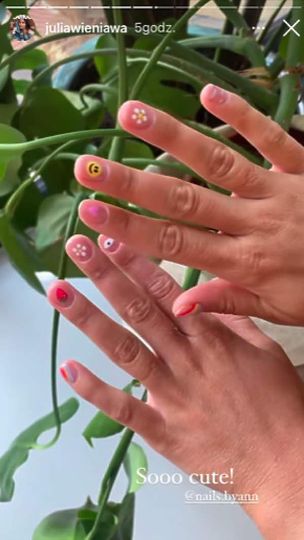 kolorowy manicure Wieniawy