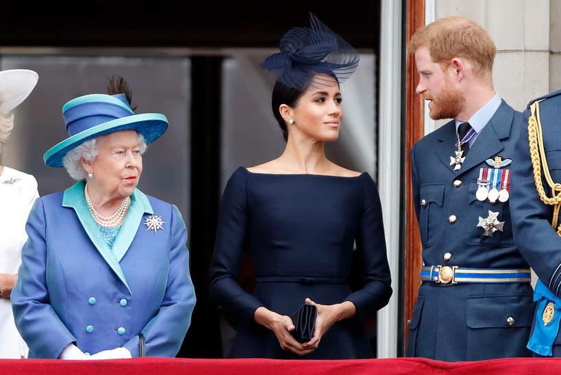 Konflikt królowej Elżbiety II, księżnej Meghan i księcia Harry'ego