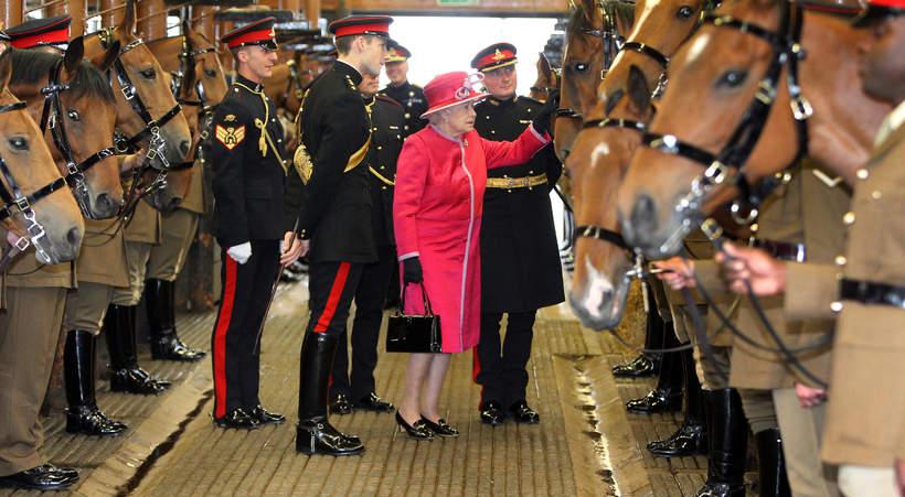 konie królowej Elżbiety II