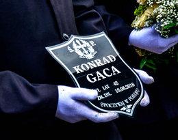 Skandal na pogrzebie Konrada Gacy! Ludzie okazali kompletny brak szacunku