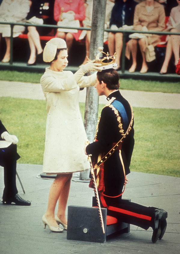 Koronacja księcia Karola na księcia Walii