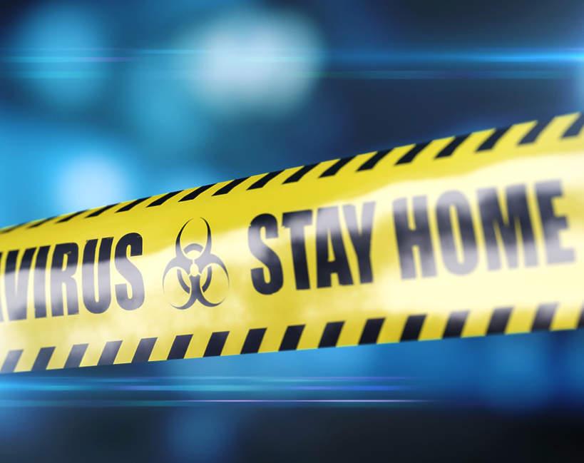 Koronawirus, policja
