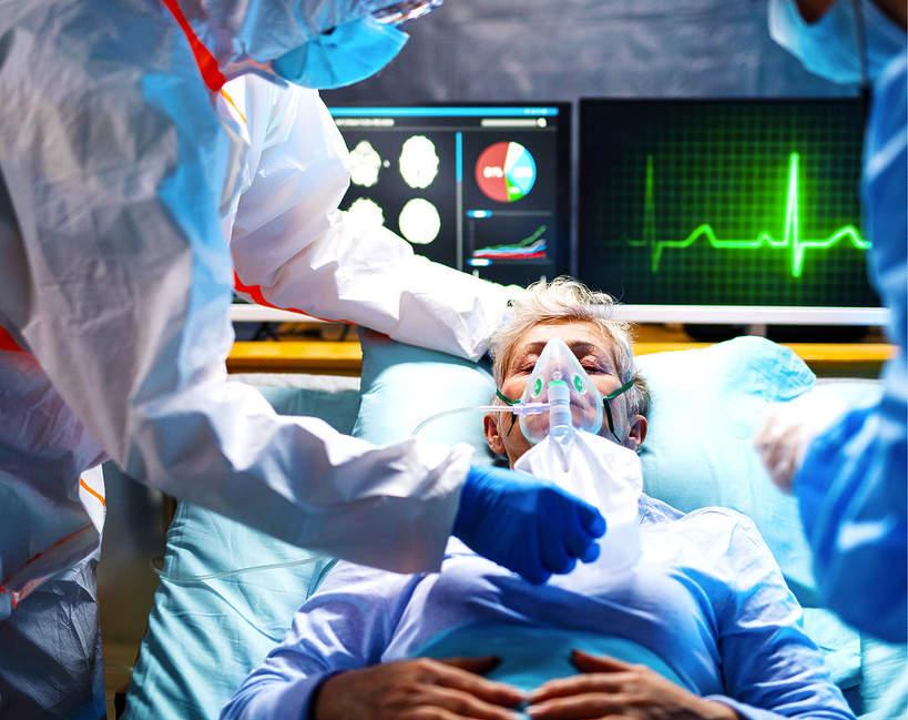 koronawirus, szpital