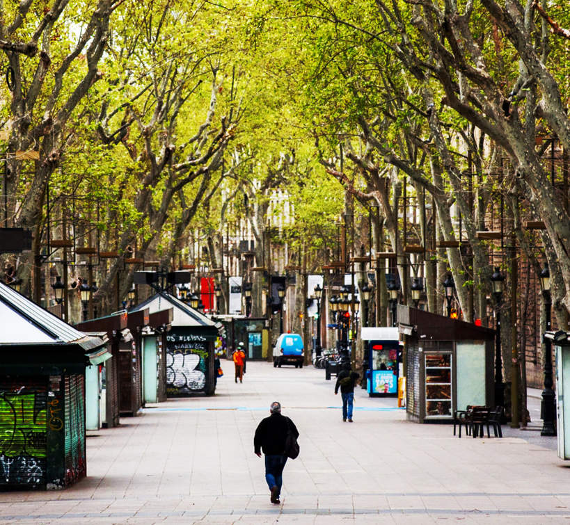 Koronawirus w Barcelonie