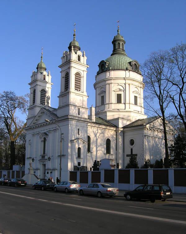 Kosciol Swietego Karola Boromeusza przy cmentarzu powazkowskim