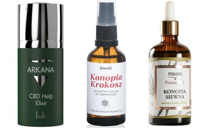 kosmetyki z olejem konopym
