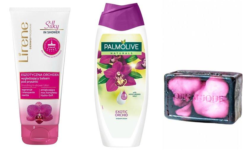 Kosmetyki z orchideą