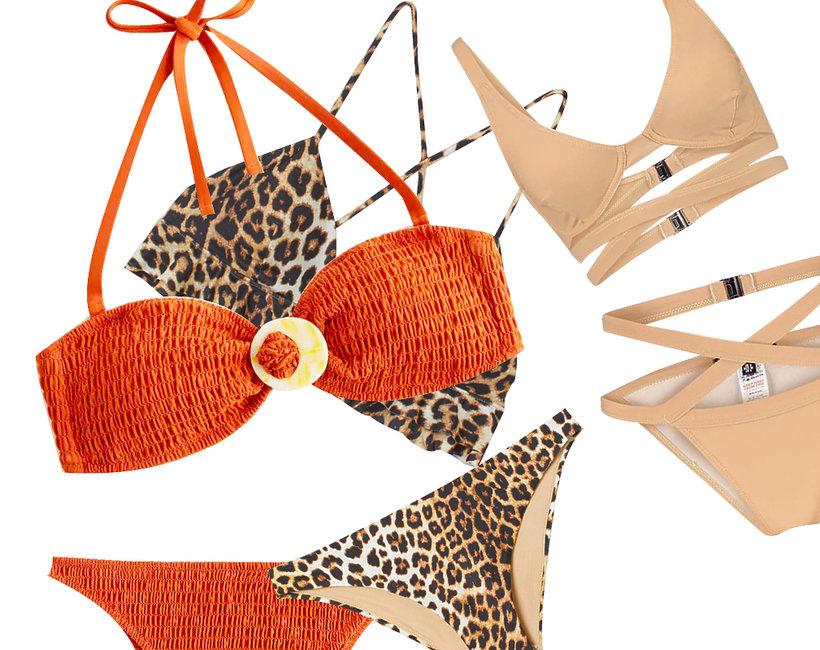 kostiumy dwuczęściowe, bikini, lato 2019