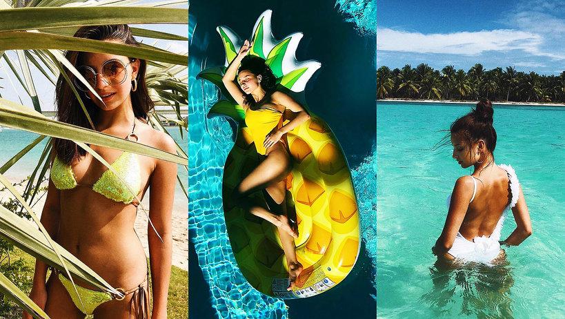 kostiumy kąpielowe, Julia Wieniawa