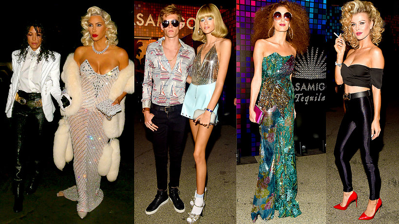 Kourtney Kardashian i Kim Kardashian, Presley Gerber i Kaia Gerber, Amal Clooney, Joanna Krupa