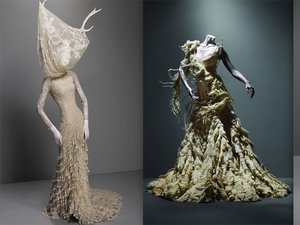Kreacje Alexandra McQueena