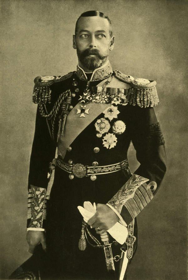 Król Jerzy V jak umarł