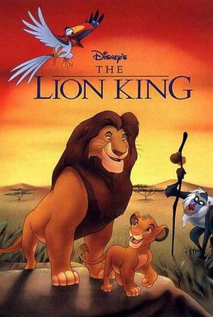 Król lew plakat filmu
