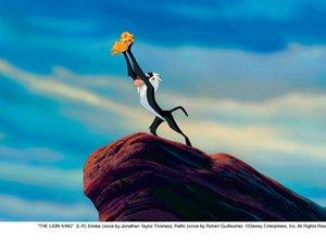 Król lew. Zdjęcie z filmu