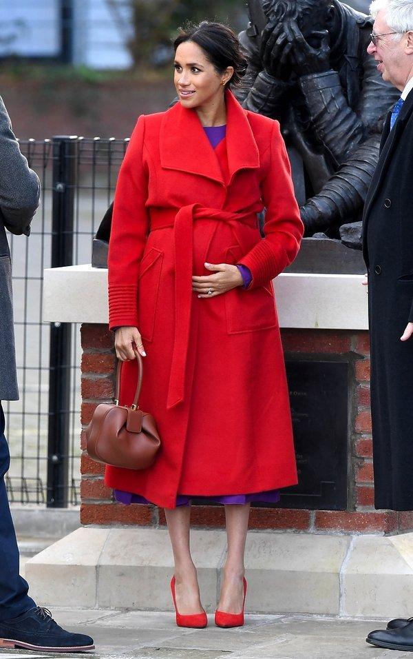 Królewskie ciąże, księżna Meghan w ciąży