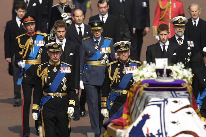 Królewskie pogrzeby. Pogrzeb Królowej Matki