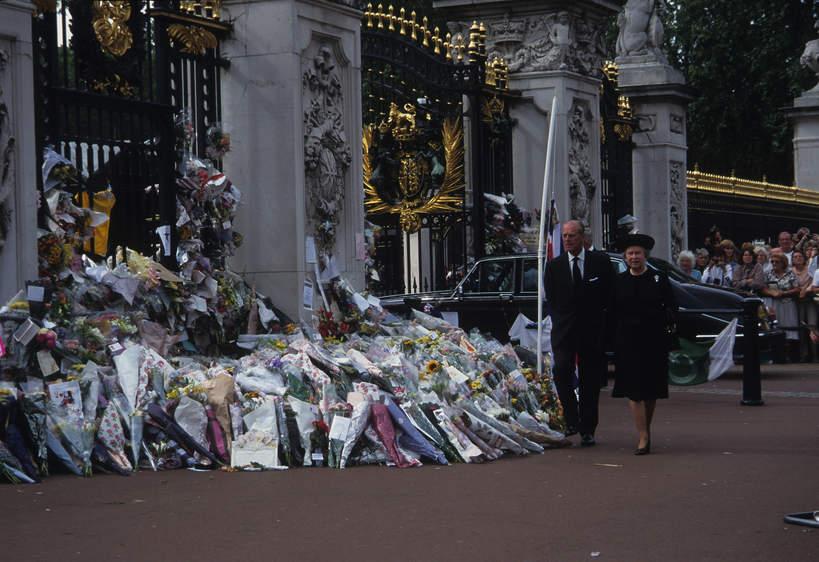 Pogrzeb księżnej Diany w 1997 roku