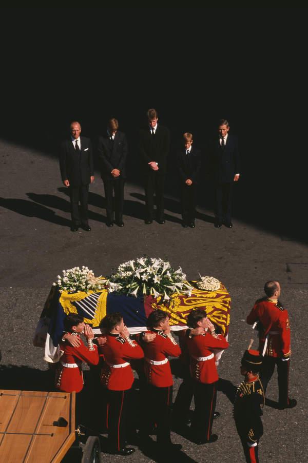 Królewskie pogrzeby. Pogrzeb księżnej Diany