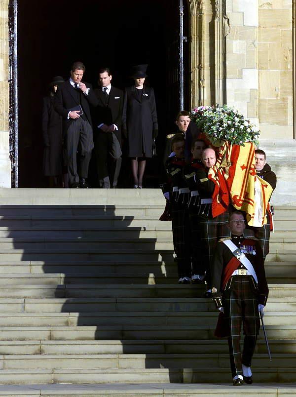 Pogrzeb księżniczki Małgorzaty, siostry Elżbiety II