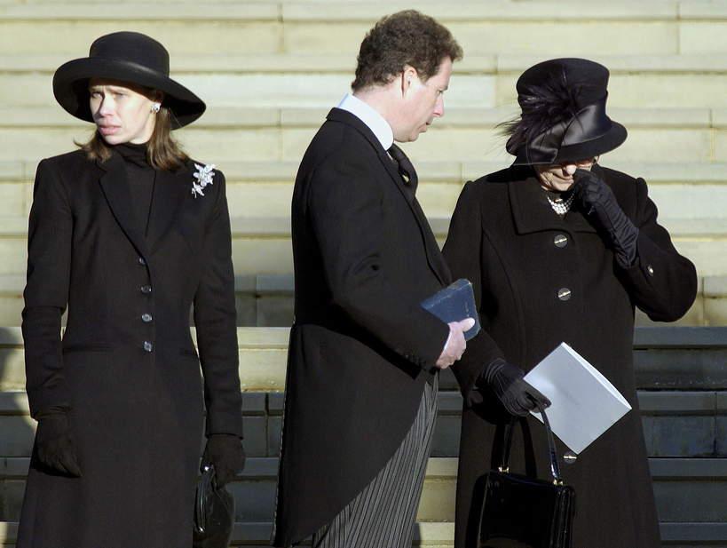 Królewskie pogrzeby. Pogrzeb księżniczki Małgorzaty