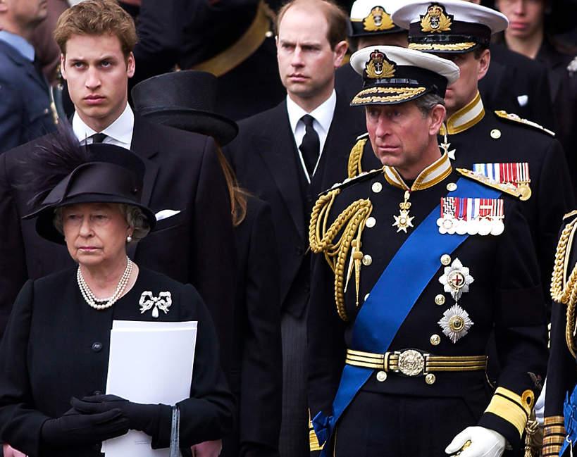 Królewskie pogrzeby, pogrzeby w brytyjskiej rodzinie królewskiej