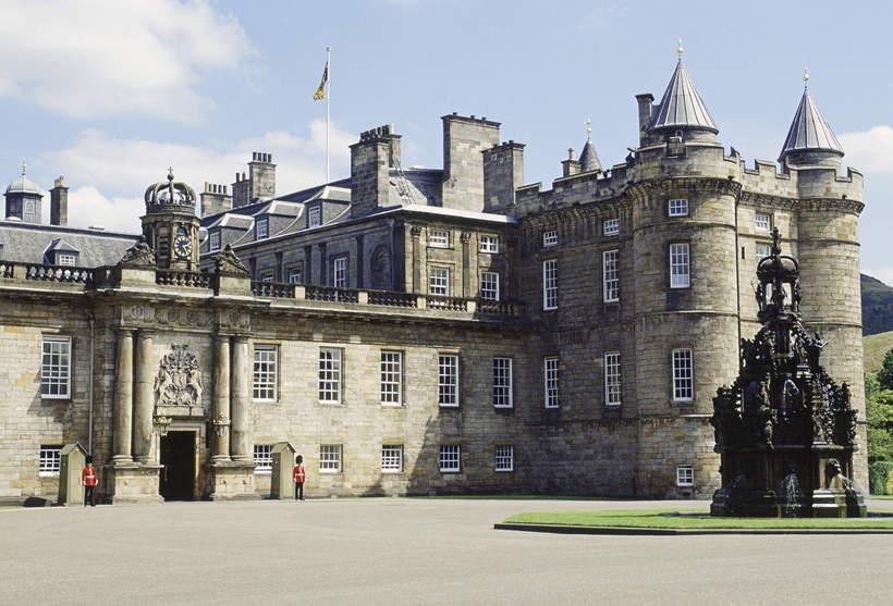 królewskie rezydencje: Holyrood Palace