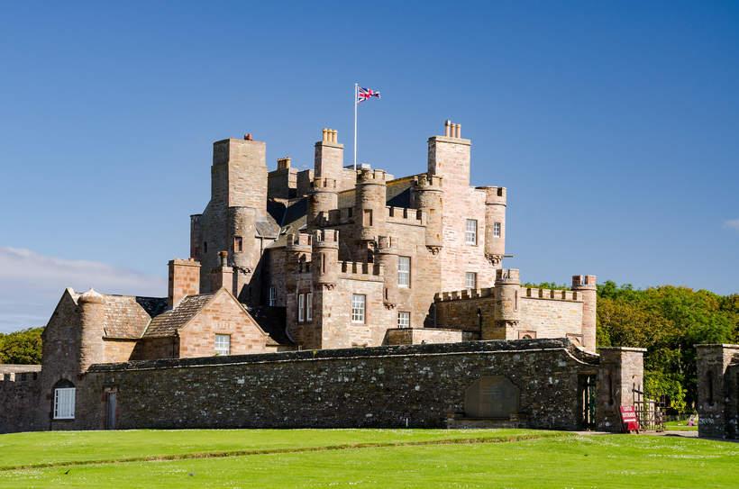 królewskie rezydencje: Zamek Mey w Szkocji