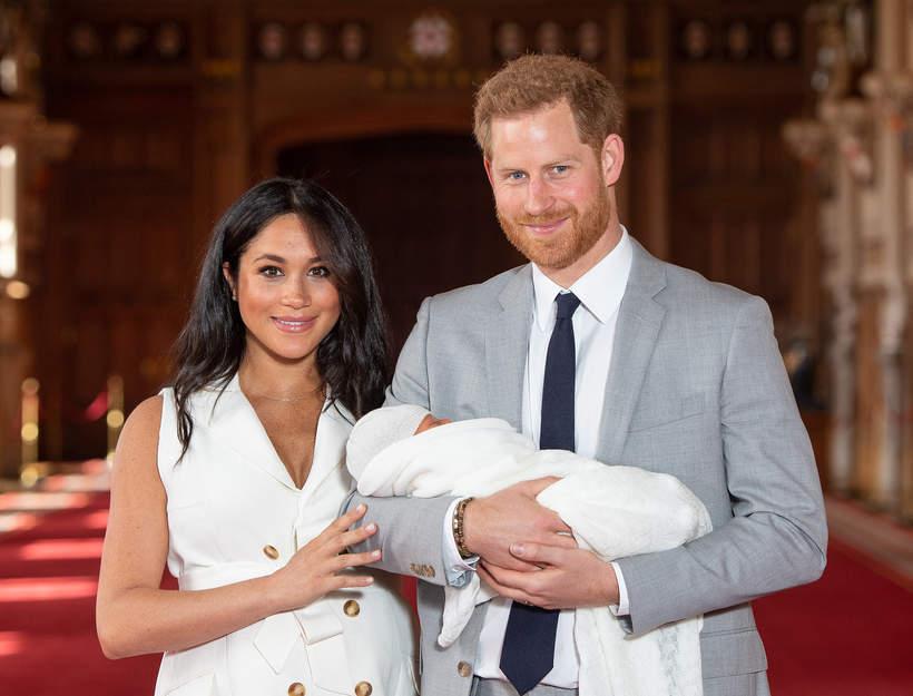 królewskie tytuły: Archie Harrison Mountbatten-Windsor