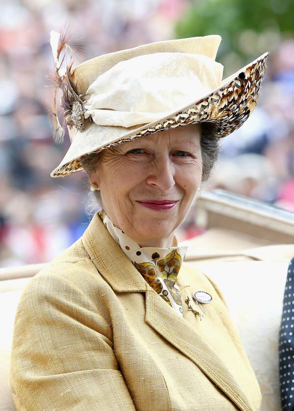 królewskie tytuły: księżniczka Anna