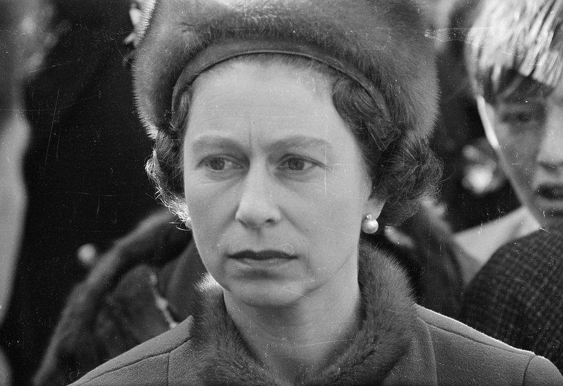 Królowa Elżbieta II Aberfan