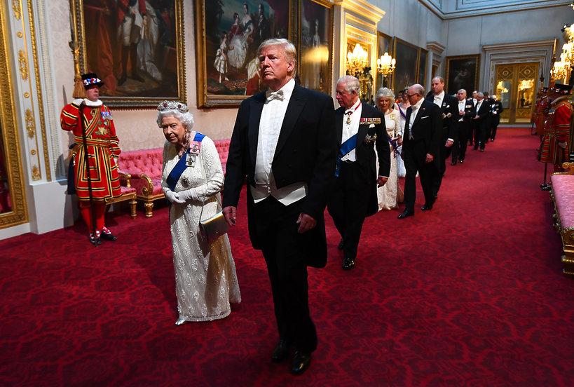 królowa Elżbieta II, Donald Trump