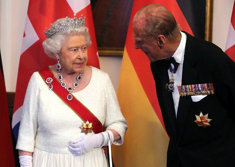 Królowa Elżbieta II i jej mąż, książę Edynburga Filip