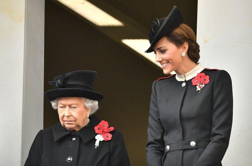Królowa Elżbieta II i księżna Kate, Dzień pamięci