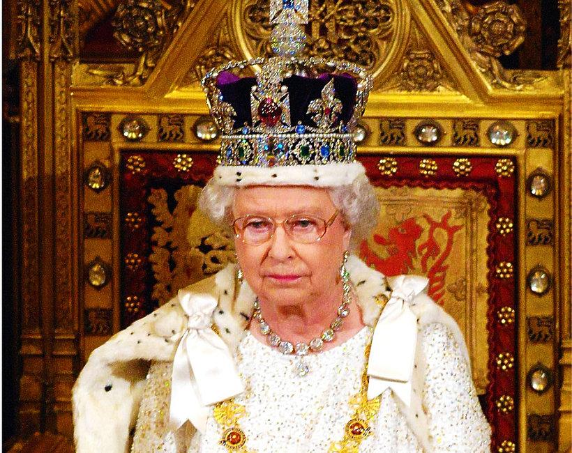 Królowa Elżbieta II, koronacja Elżbiety II