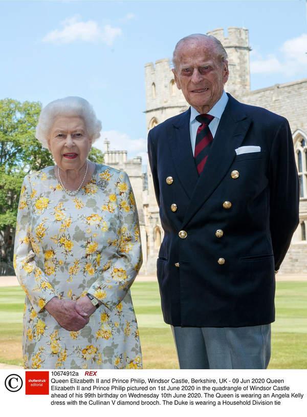 Królowa Elżbieta II, książę Filip 2020